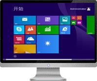 中关村GHOST WIN8_64位专业版v2014.05