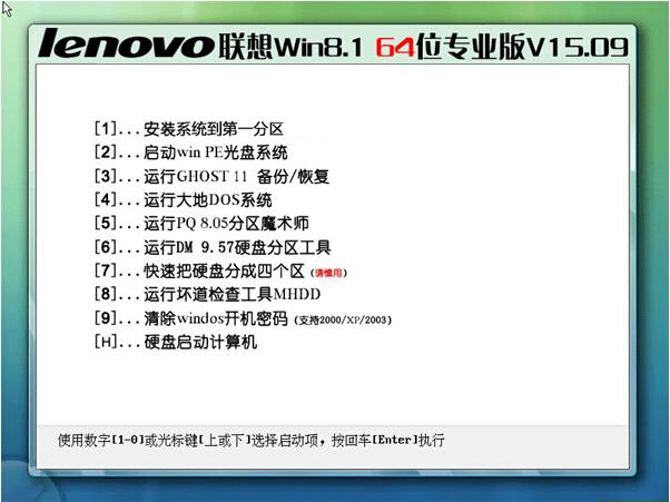 Lenovo联想Win8.1 64位专业版V15.09(笔记本Windows8.1)