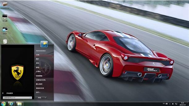法拉利458 win7电脑桌面主题下载